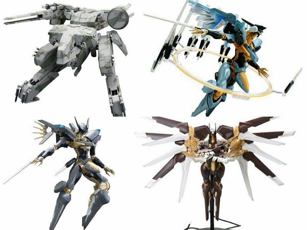 Andere Figuren der KOTOBUKIYA Model Kit Reihe.