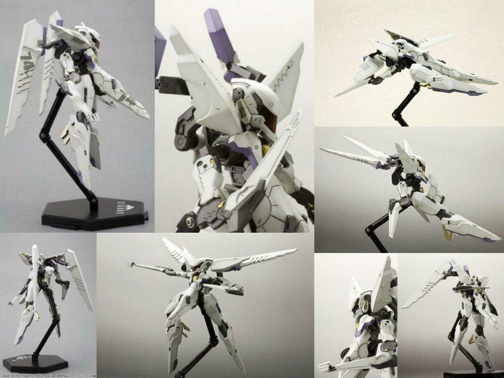 Eine Collage zu mehreren Vic Viper Bildern der fertigen Version aus Produktbeschreibungen.